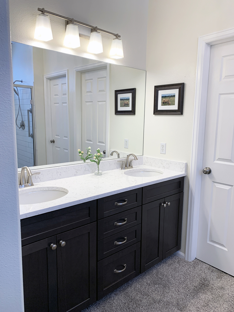 After bathroom remodel Colorado Springs